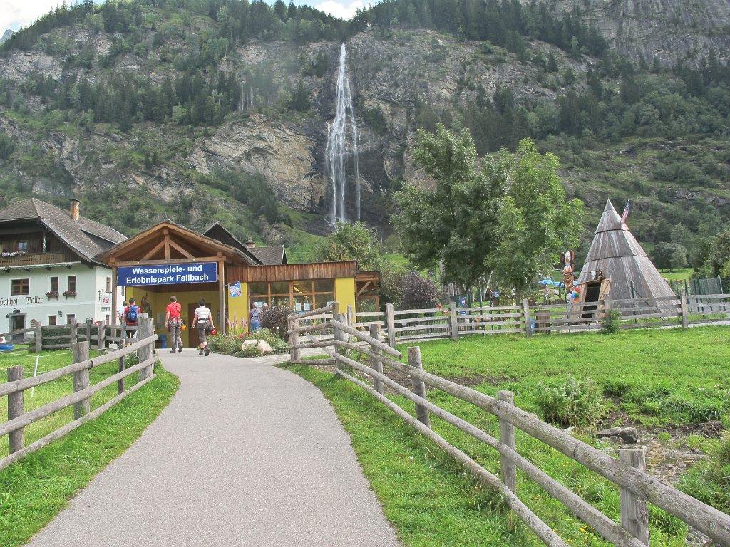 Klettersteig Fallbach : Grosser hafner 19. bis 21. august 2011 01 besuch fallbach klettersteig